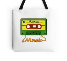 Reggae Tape Design Tote Bag