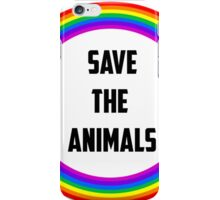 Save the Animals iPhone Case/Skin