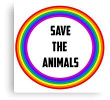 Save the Animals Canvas Print
