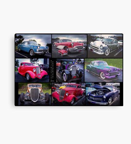 Vintage & Classic Cars Canvas Print
