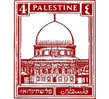 Palestine Stamp Photographic Print