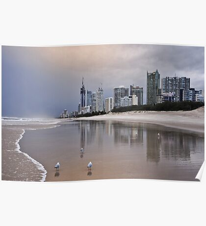 Dusk on the Gold Coast Poster