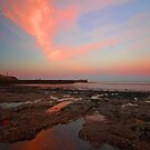 Sunrise At  Whitehaven Shoreline by WOBBLYMOL
