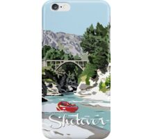 The Shotover River by Ira Mitchell-Kirk iPhone Case/Skin