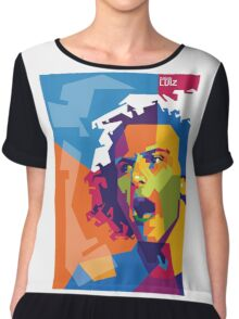 "WPAP - ""David Luiz"" Chiffon Top"