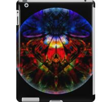 Man Under Flower Stands Before High Priestess While Glass Ball Encompasses All iPad Case/Skin