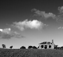 The Little House on a Hill. by Ben Loveday