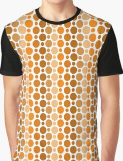 Earthy Retro Speckles Graphic T-Shirt