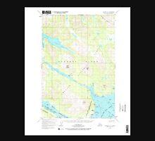 USGS TOPO Map Alaska AK Afognak A-3 353891 1952 63360 Unisex T-Shirt