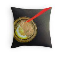 Comfort Food: Fresh Lemon Soda Throw Pillow
