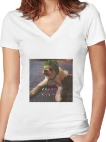 Frankie Cosmos - Zentropy Women's Fitted V-Neck T-Shirt