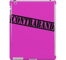 NFF Contraband - black design iPad Case/Skin