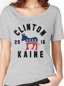 Clinton Kaine 2016 Shirt - Hillary Clinton Tim Kaine Democrat 16 Women's Shirt Women's Relaxed Fit T-Shirt