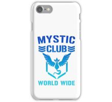 Mystic Club World Wide iPhone Case/Skin