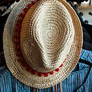Hat and blouse by Thad Zajdowicz