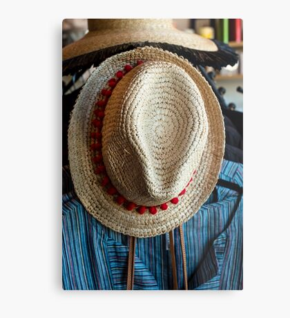 Hat and blouse Metal Print