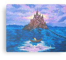 Rapunzel, our new dream Canvas Print