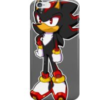 Mini Shadow The Hedgehog iPhone Case/Skin