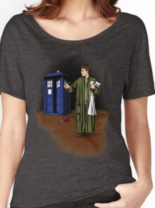 Hitchhiker in Time and Space Women's Relaxed Fit T-Shirt