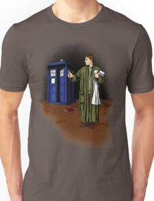 Hitchhiker in Time and Space Unisex T-Shirt