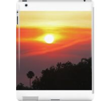 Smoky SoCal Sunset iPad Case/Skin