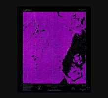 USGS TOPO Map Alaska AK Medfra D-3 357480 1954 63360 Inverted Unisex T-Shirt
