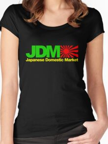 Japanese Domestic Market JDM (6) Women's Fitted Scoop T-Shirt