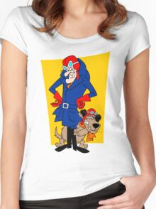 Dastardly & Muttley Women's Fitted Scoop T-Shirt