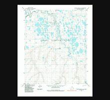 USGS TOPO Map Alaska AK Ikpikpuk River C-3 356215 1985 63360 Unisex T-Shirt