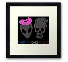 Twenty One Pilot Framed Print