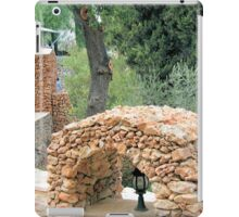 Arch of cobblestones iPad Case/Skin