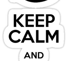Keep calm and train your dragon Sticker