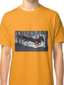 Little Red Riding Hood and the Wolf Classic T-Shirt