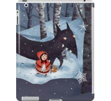 Little Red Riding Hood and the Wolf iPad Case/Skin