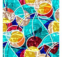 Abstraction . Cherry. Photographic Print