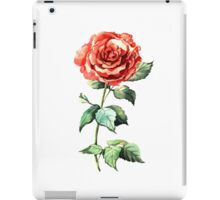 Watercolor rose iPad Case/Skin