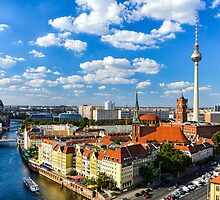 Skyline of Berlin by Michael Abid