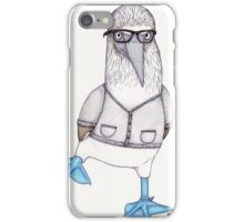 Nathan the Blue-footed Booby iPhone Case/Skin
