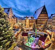 Christmas Market in Hildesheim, Germany by Michael Abid