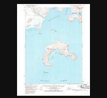 USGS TOPO Map Alaska AK Stepovak Bay D-3 359339 1963 63360 Unisex T-Shirt