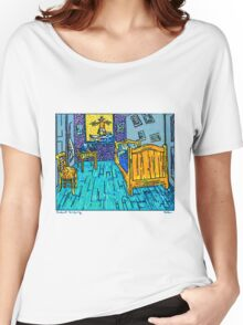 Arles Surf Club Women's Relaxed Fit T-Shirt