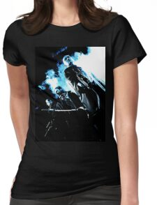 Les Velázquez Dark side Womens Fitted T-Shirt