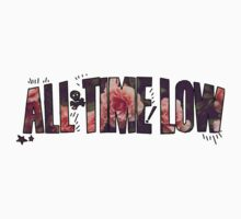 All Time Low - Flower Design by LaurasTees