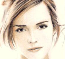 Emma Watson miniature EW7 Sticker