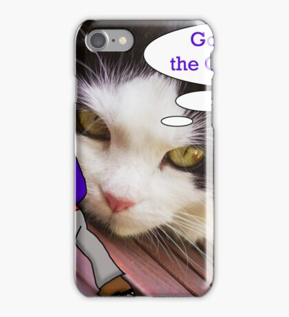 The Cat and the Climber iPhone Case/Skin