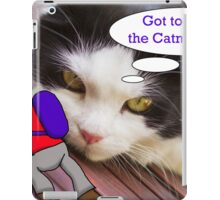 The Cat and the Climber iPad Case/Skin