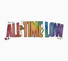 All Time Low - Paint Design Kids Clothes