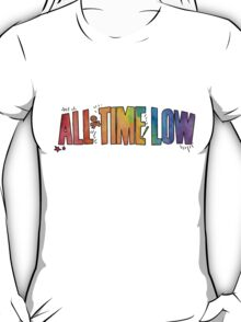 All Time Low - Paint Design T-Shirt