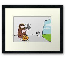 Caveman Framed Print