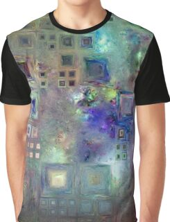 Crystalline Squares 5 Graphic T-Shirt